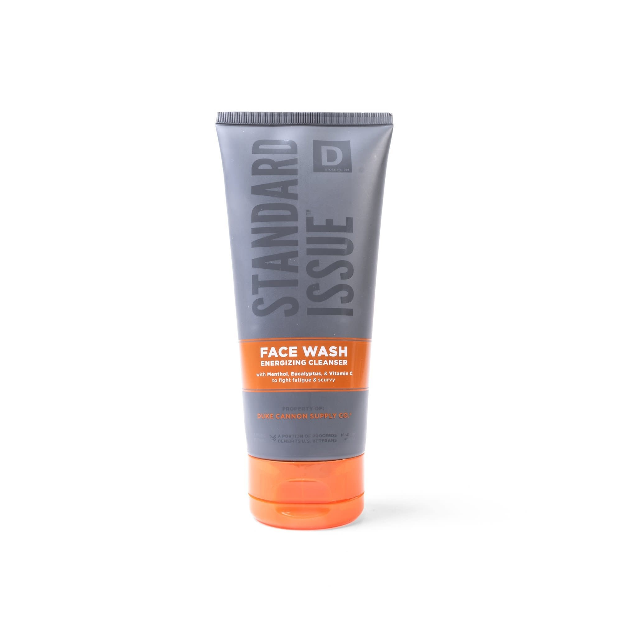 Duke Cannon Standard Issue Energizing Face Wash