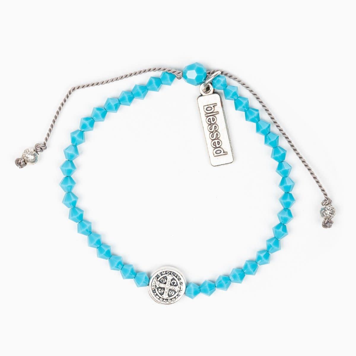 My Saint My Hero Birthday Blessing Bracelet