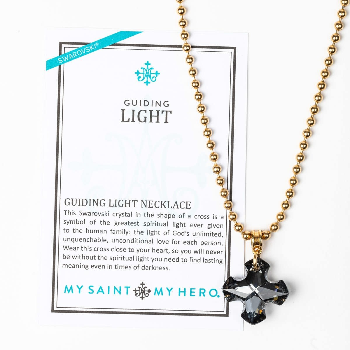 My Saint My Hero Guiding Light Necklace Shadow