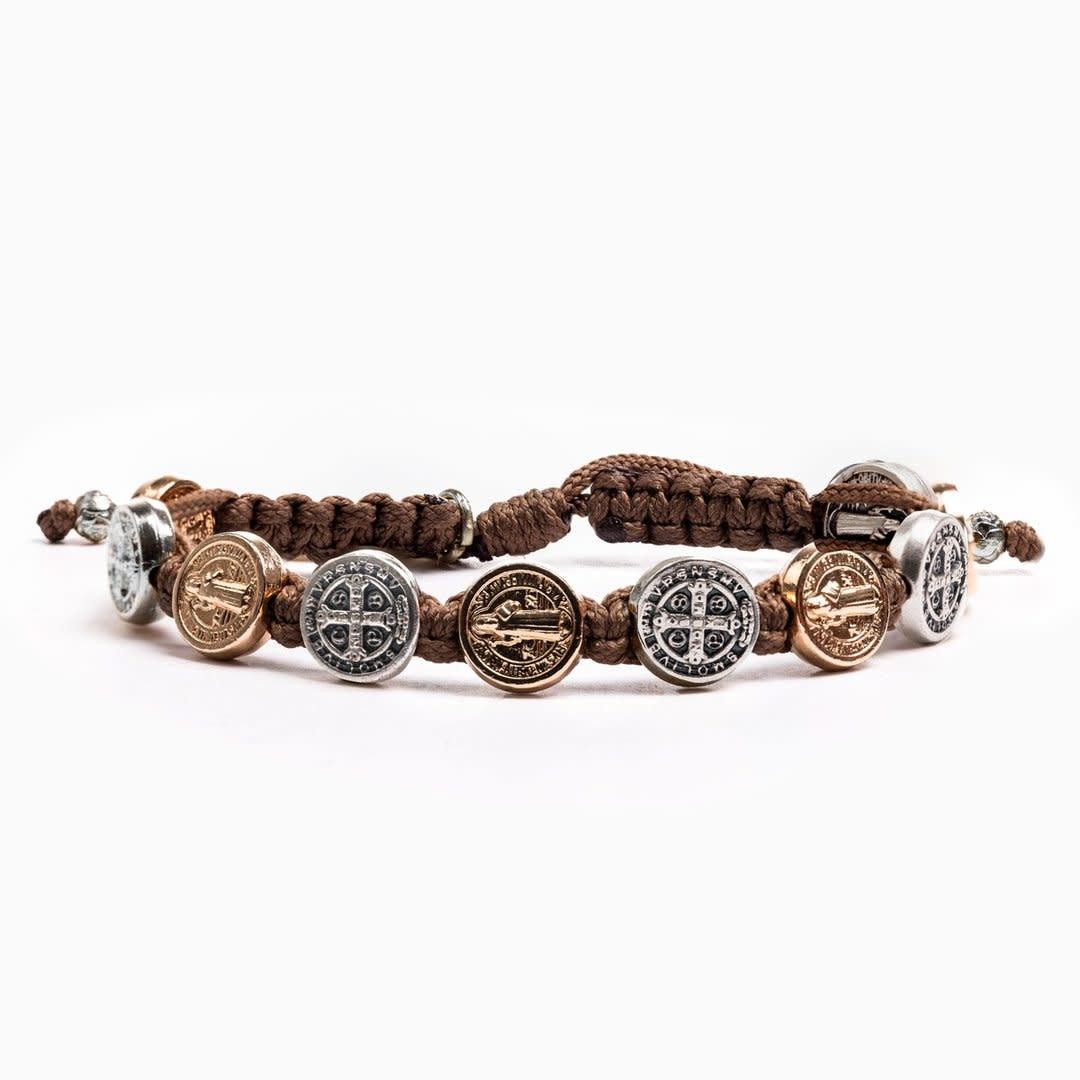 My Saint My Hero Hope Blessing Bracelet Mix-Taupe