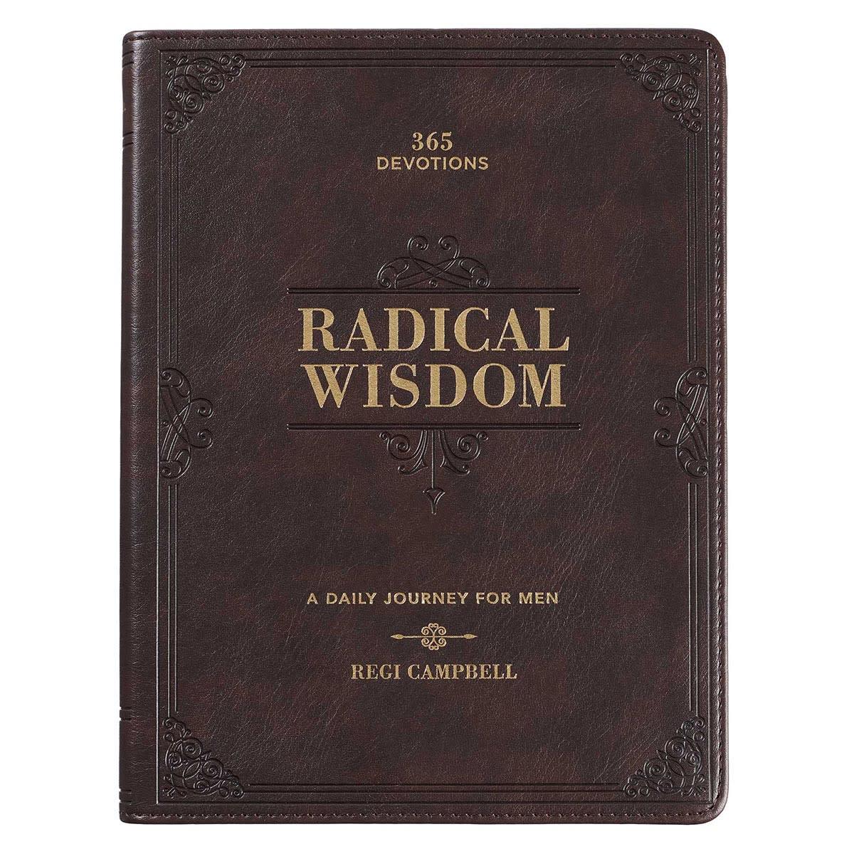 Christian Art Gifts Radical Wisdom Devotional for Men