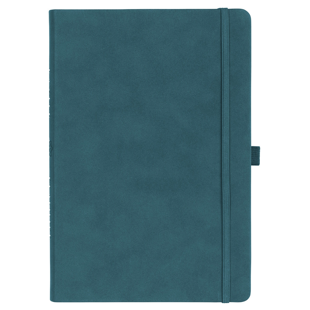Christian Art Gifts Teal Faux Leather Planner