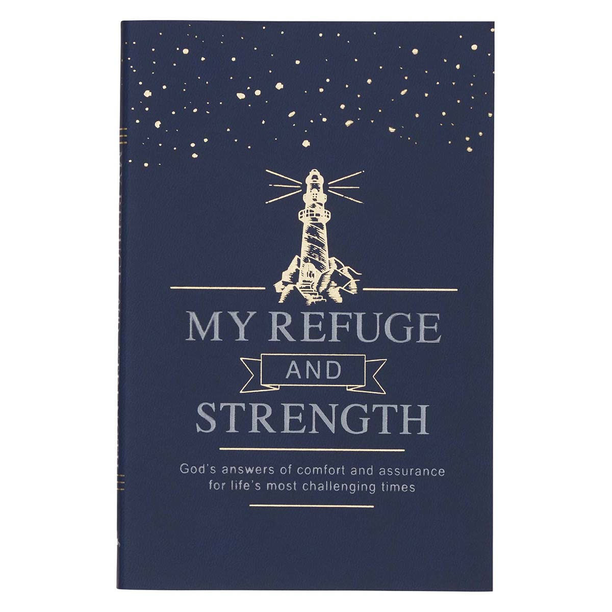 Christian Art Gifts My Refuge & Strength Book