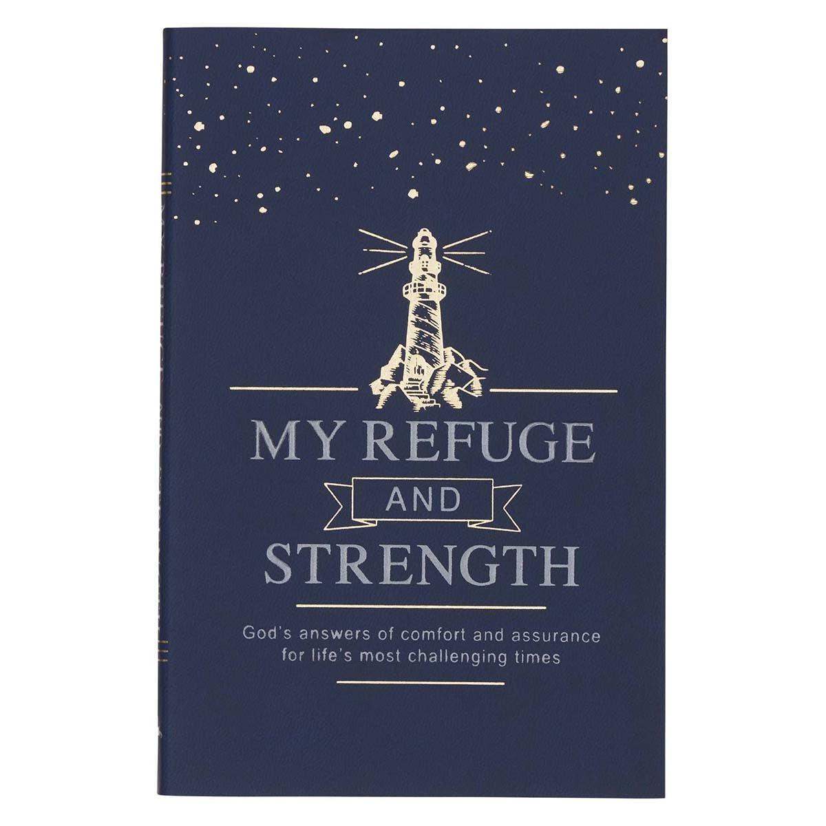 Christian Art Gifts My Refuge & Strength Book