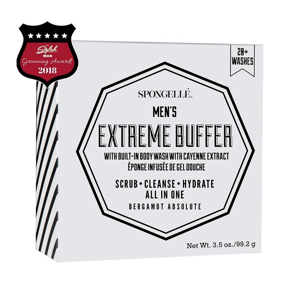 Spongelle Men's Extreme Buffer-Bergamont Absolute
