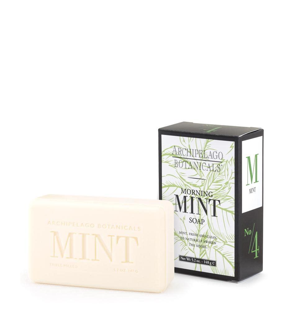 Archipelago Morning Mint All Natural Soap