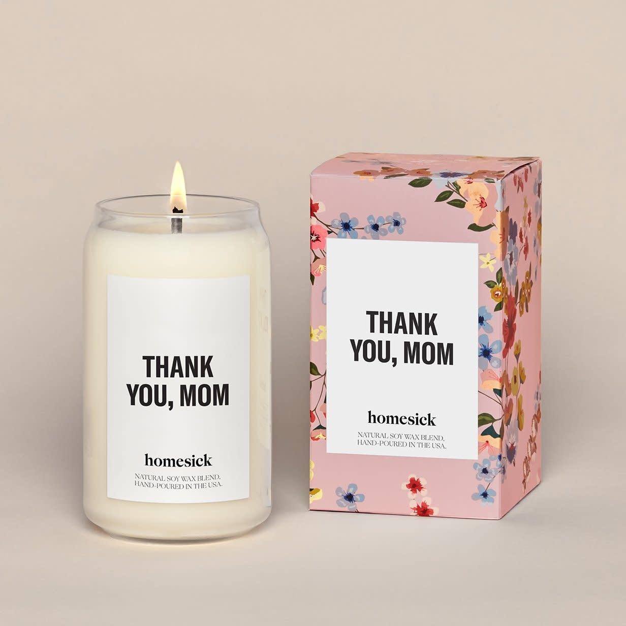 Homesick Thank You, Mom Candle