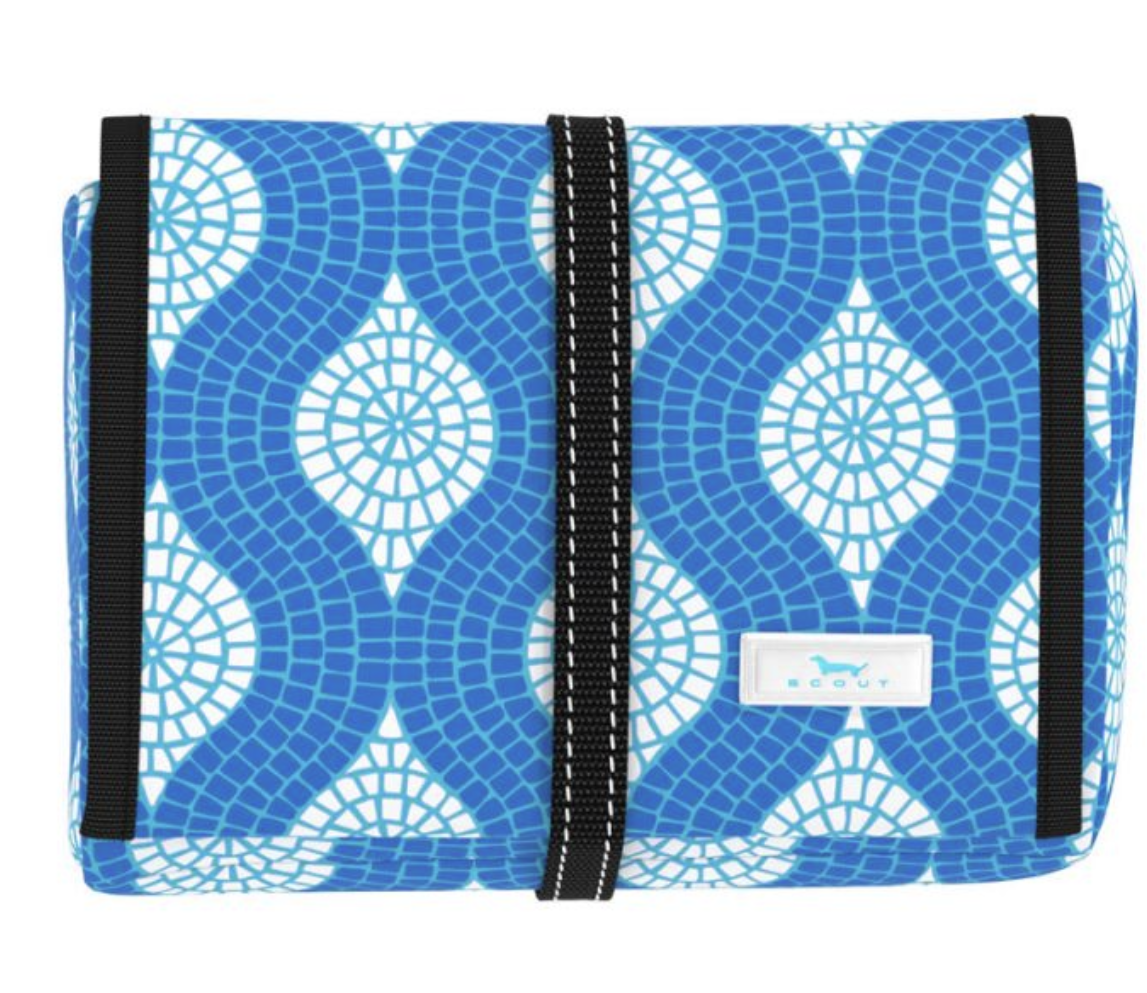 Scout Bags Beauty Burrito-Sweet Tile of Mine