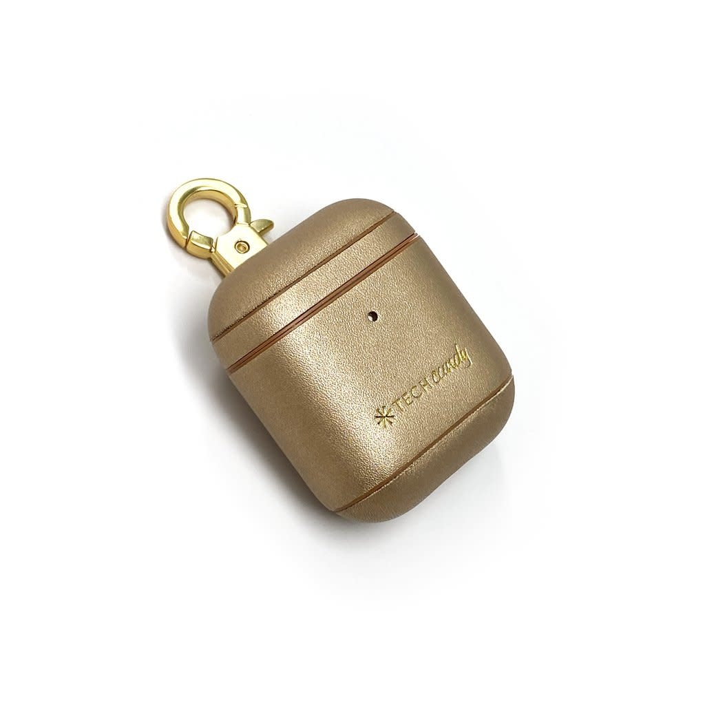 Tech Candy AirPods Case Gold