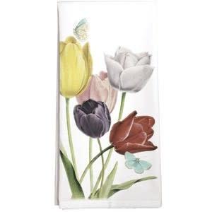 Mary Lake-Thompson LTD Tulips Towel