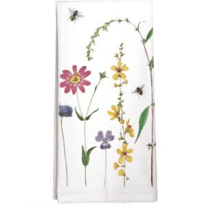 Mary Lake-Thompson LTD Bee Flowers Towel