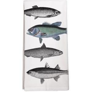 Mary Lake-Thompson LTD Fish Towel