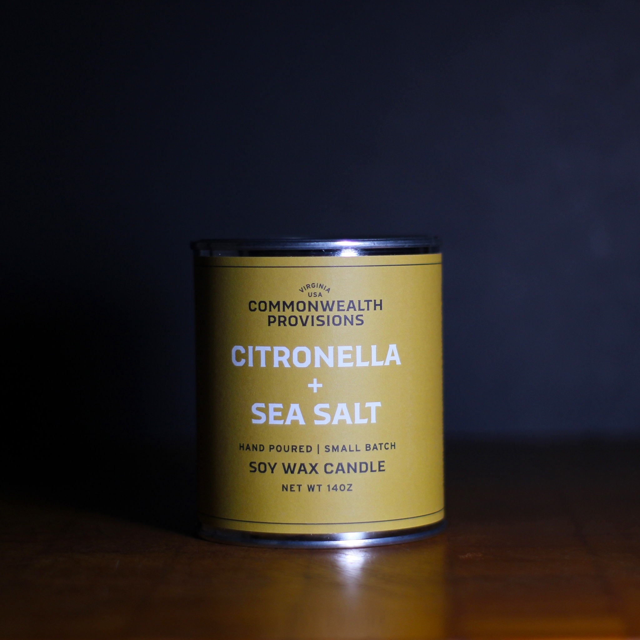 Commonwealth Provisions Citronella & Sea Salt Candle