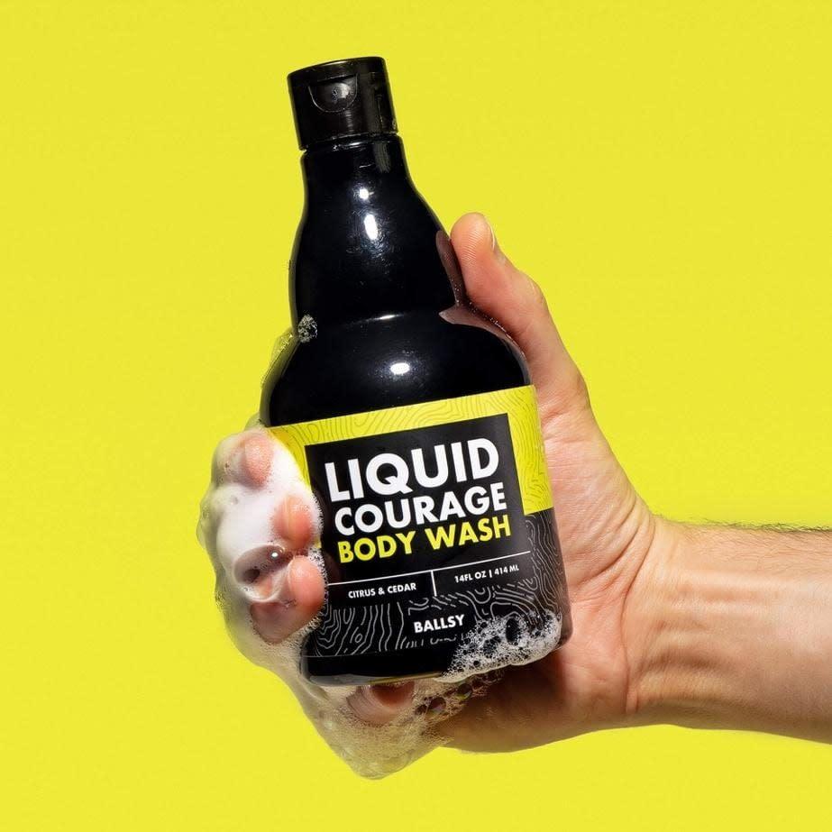 Liquid Courage Body Wash-Citrus & Cedar