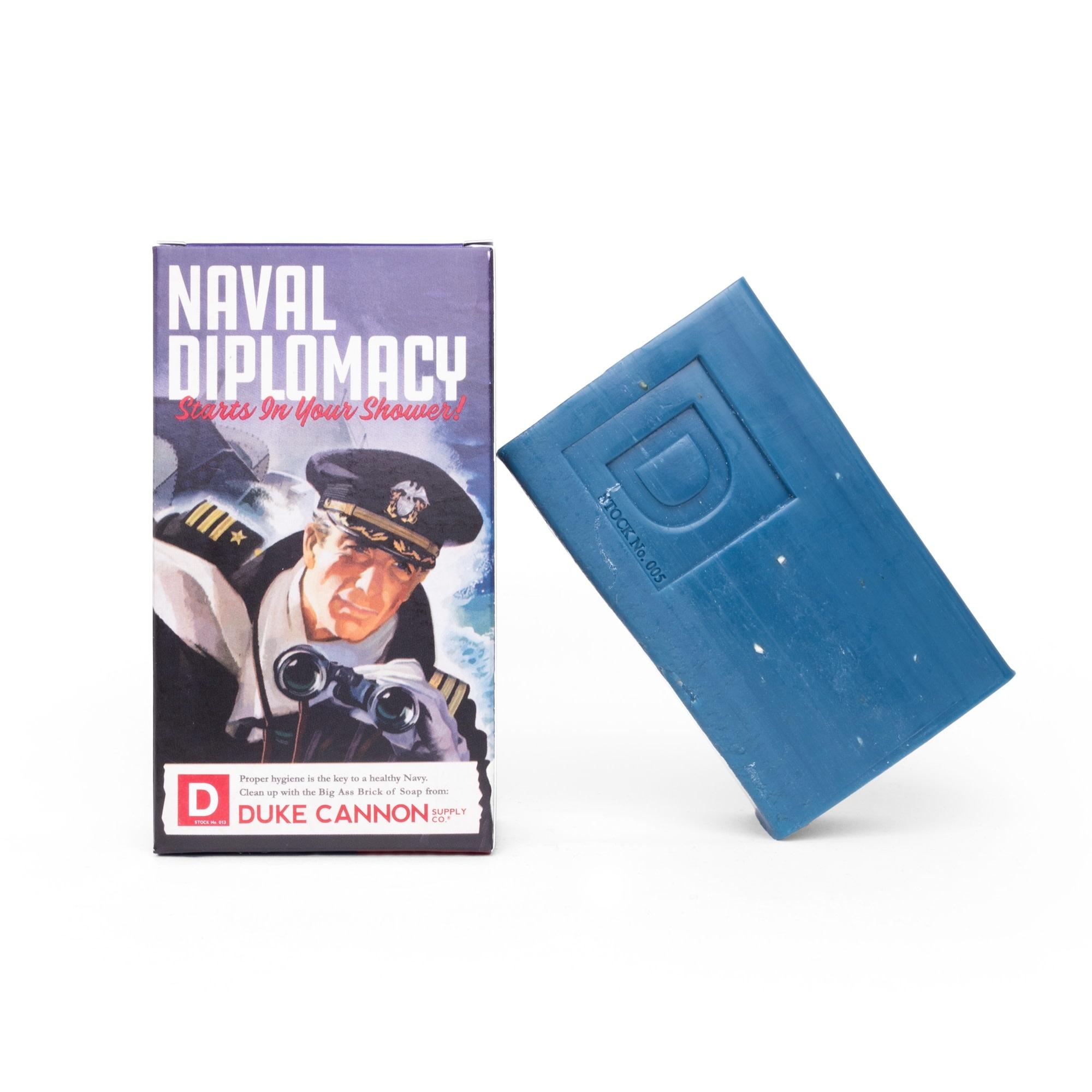 Duke Cannon Naval Diplomacy Big Ass Brick of Soap