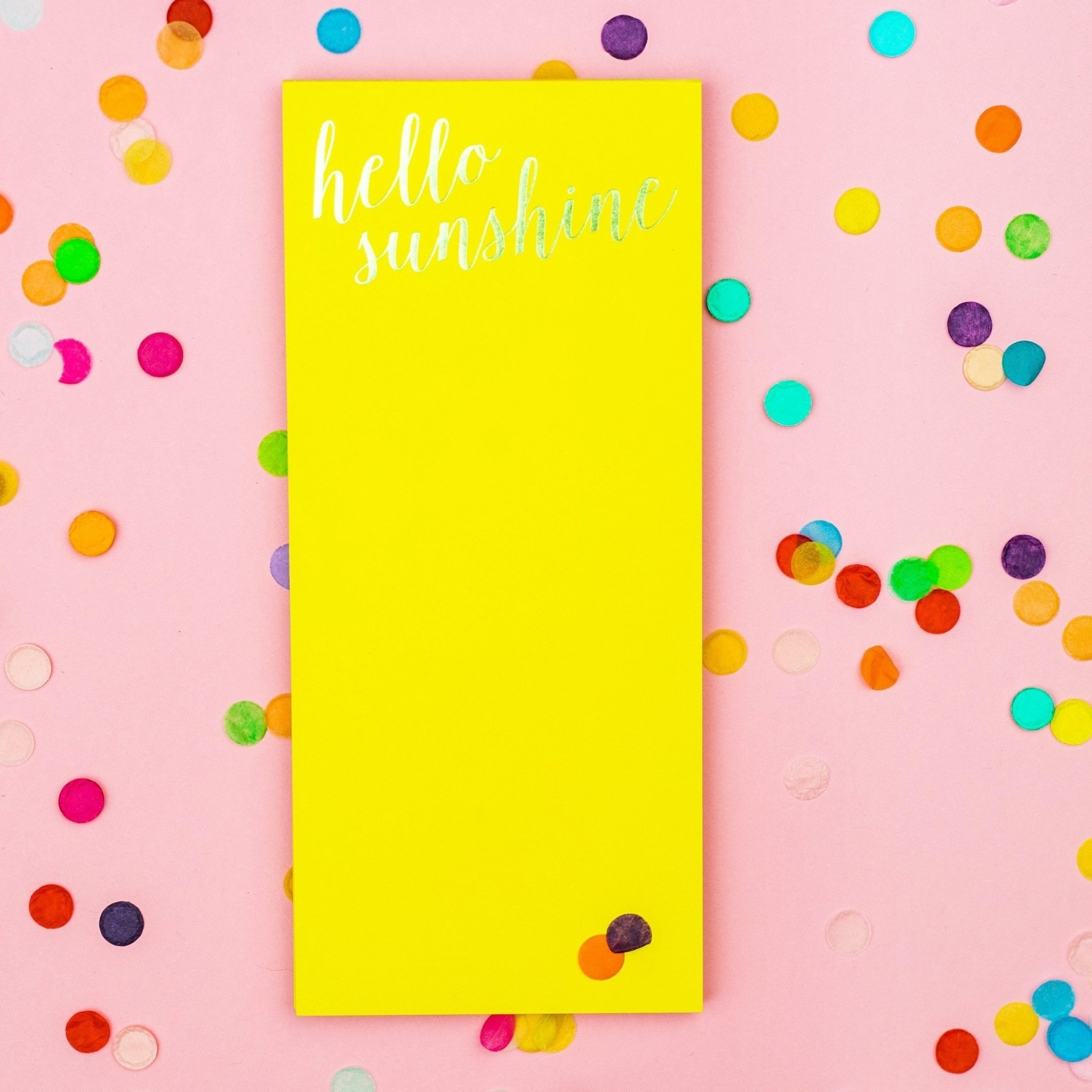 Taylor Elliott Hello Sunshine List Pad