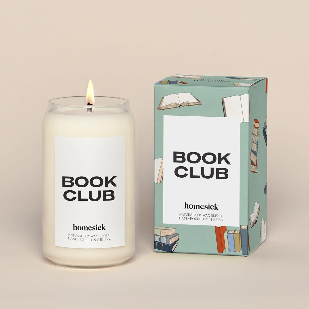 Homesick Book Club Candle