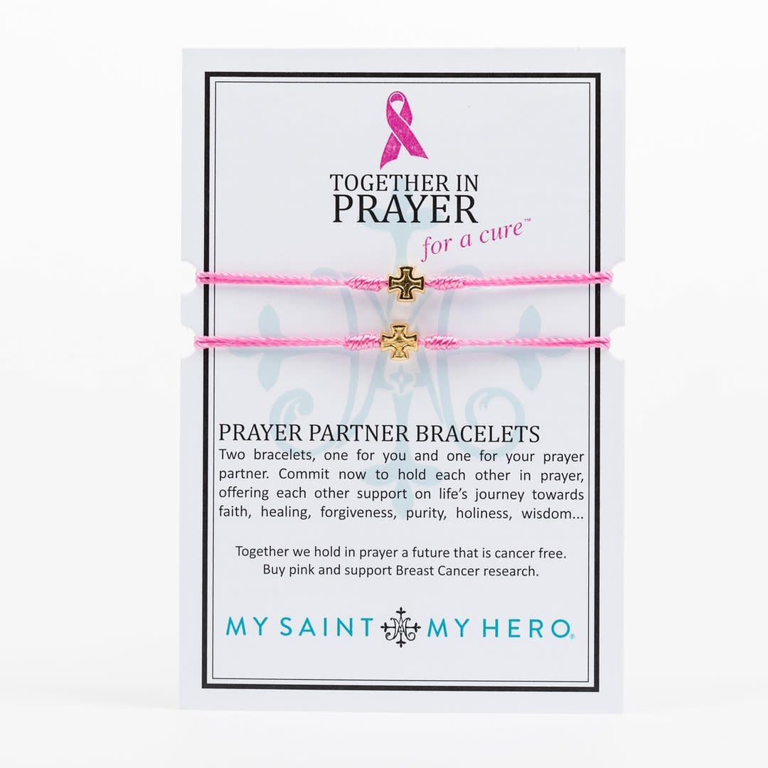 My Saint My Hero Together in Prayer for a Cure Bracelets