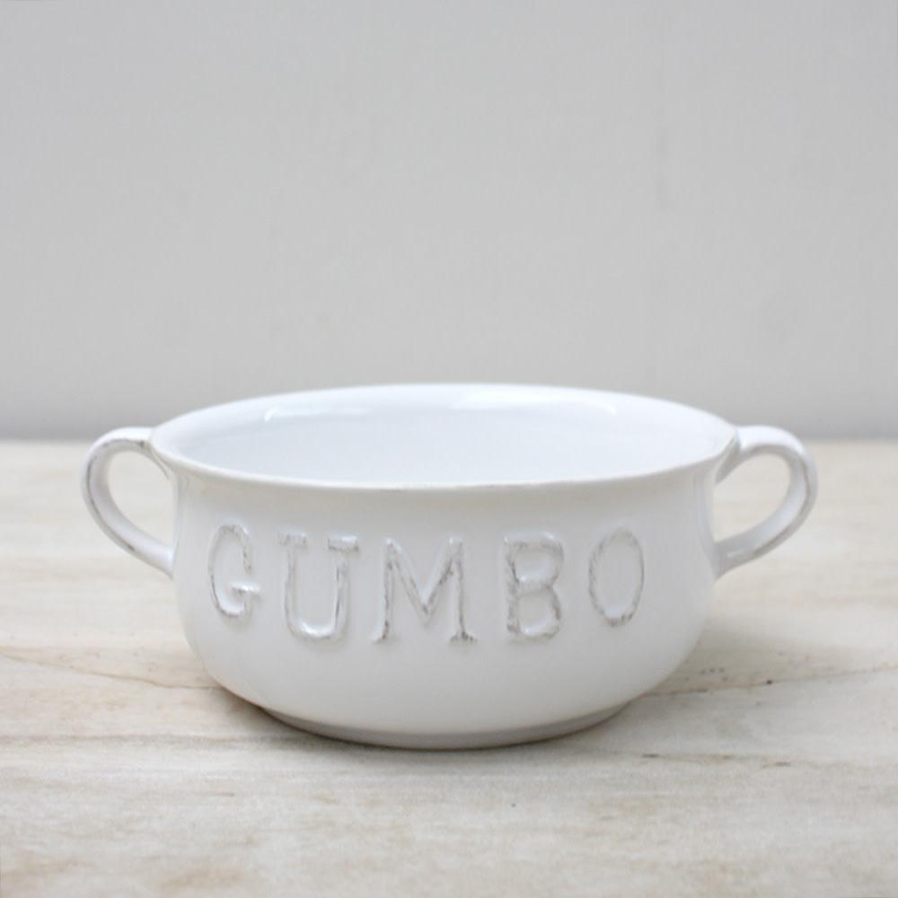 The Royal Standard Gumbo Double Handle Bowl