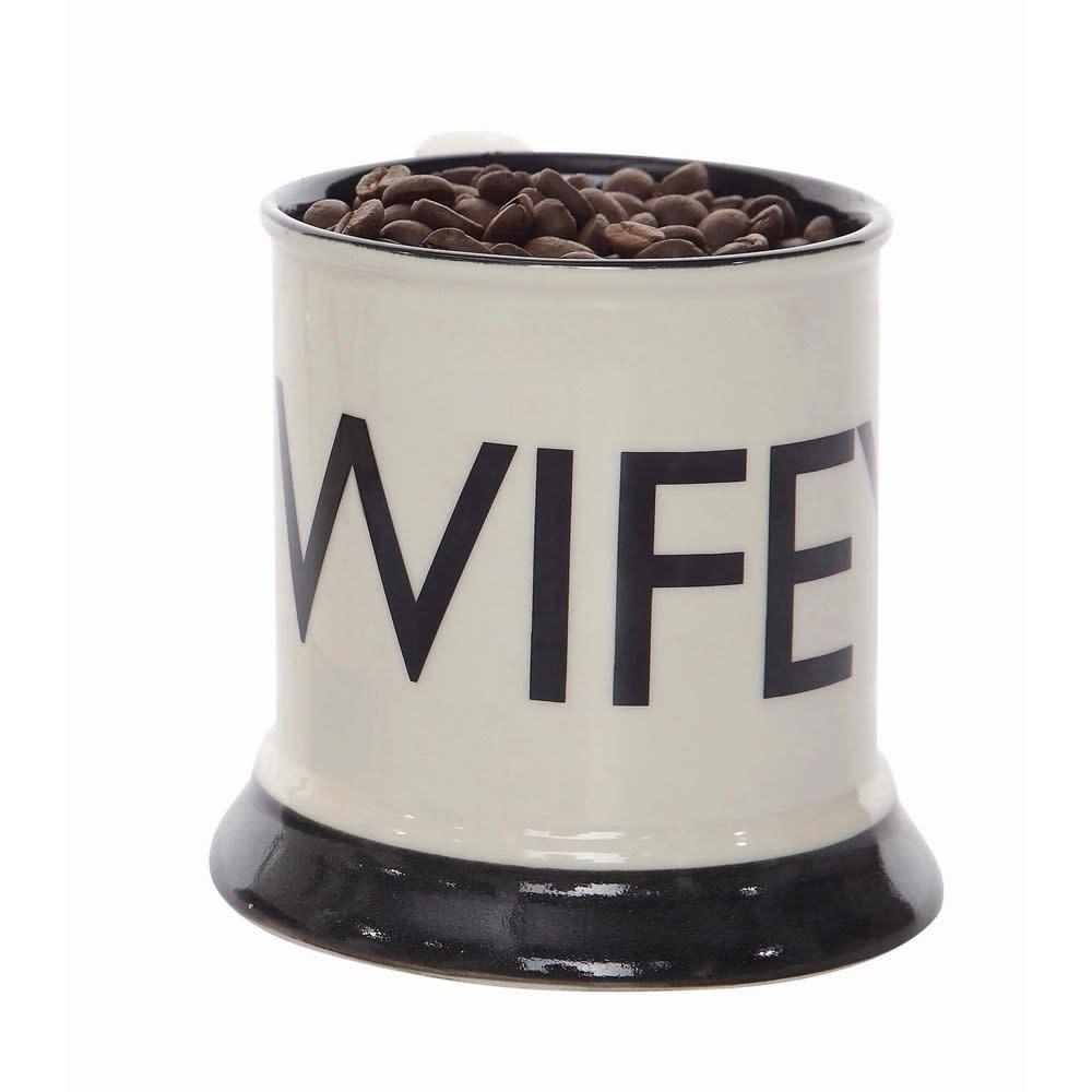 Creative Co-Op Wifey Stoneware Mug