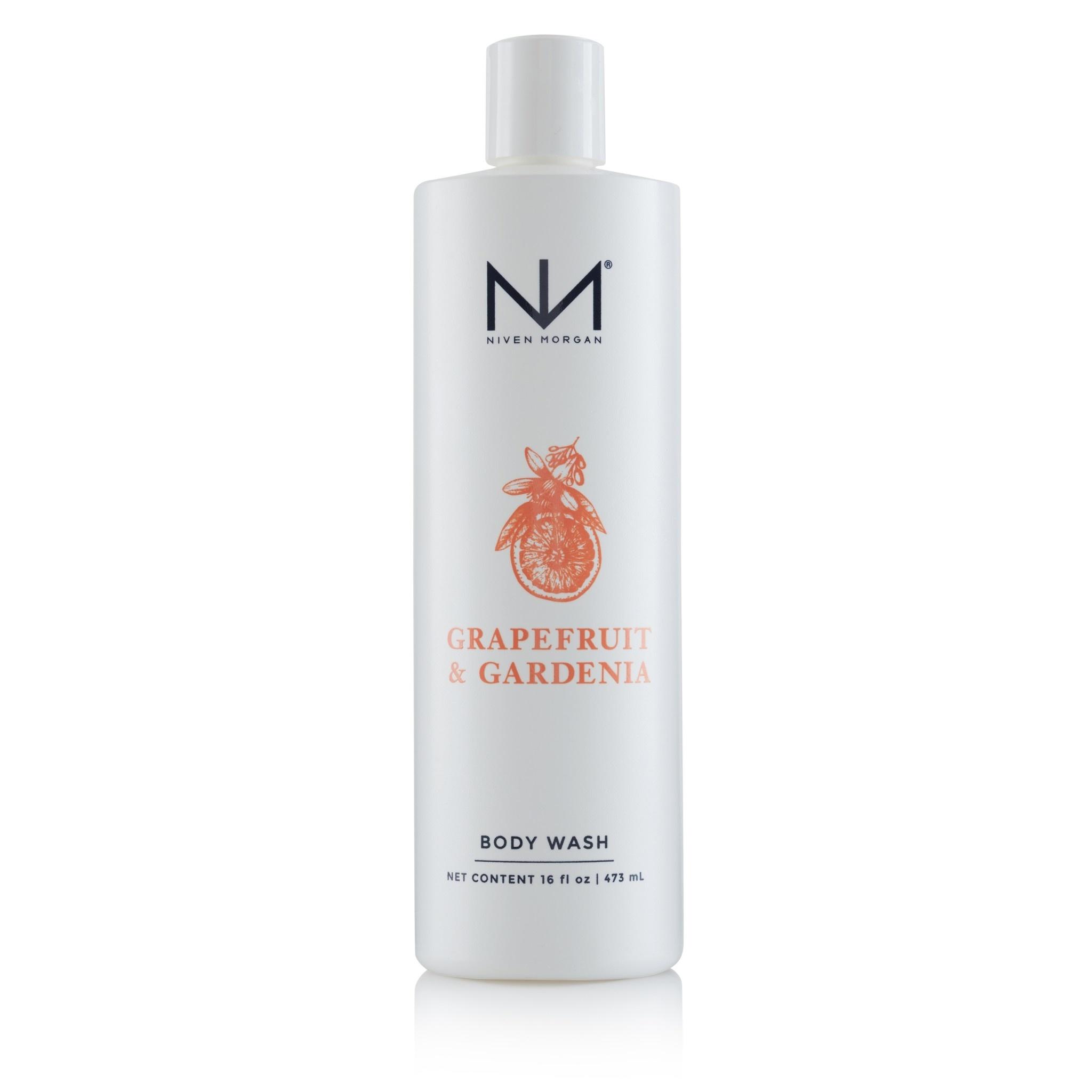 Niven Morgan Grapefruit & Gardenia Body Wash 16oz