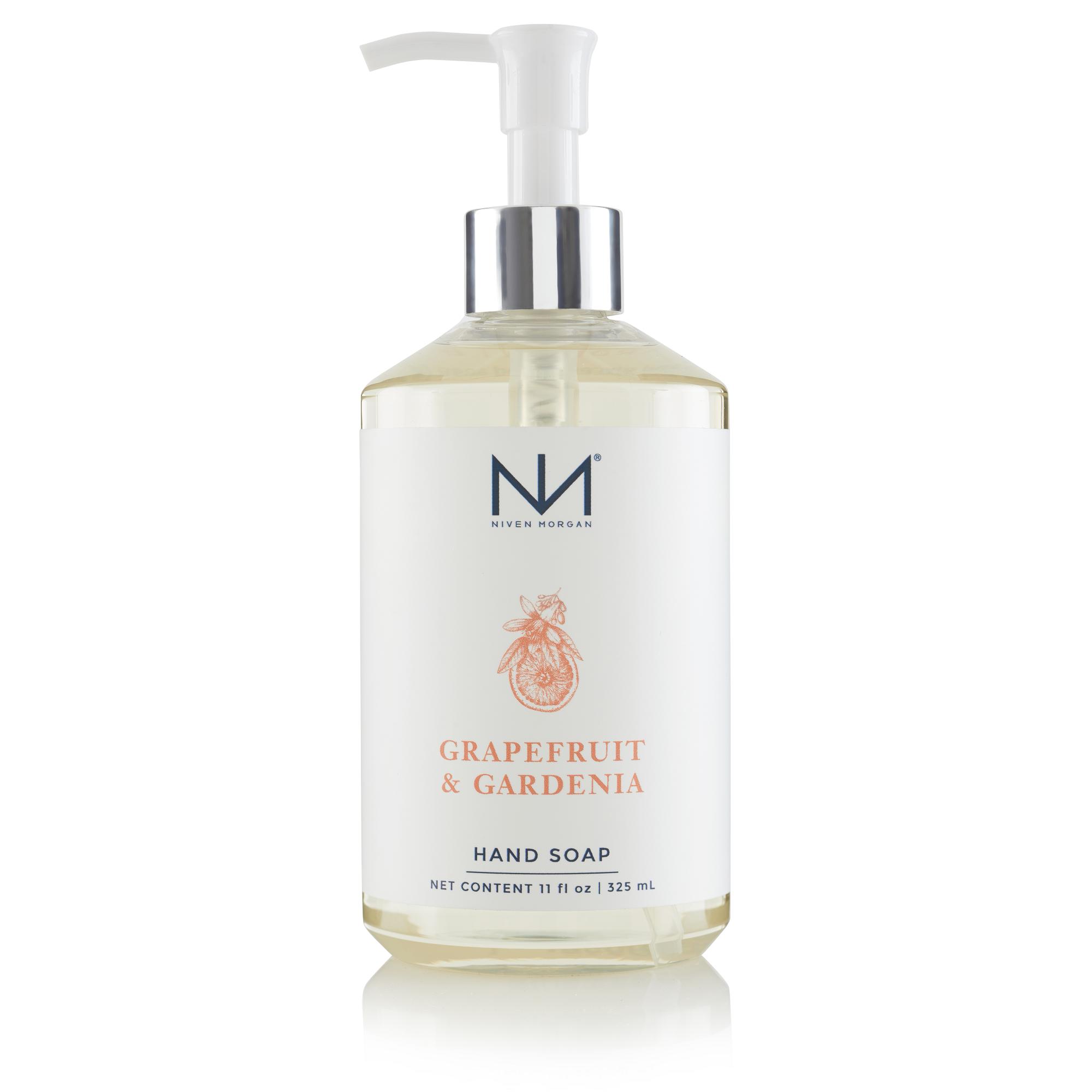 Niven Morgan Grapefruit & Gardenia Hand Soap 11oz