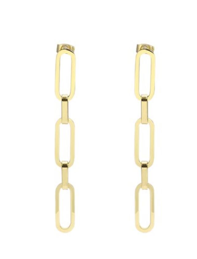 Accessory Concierge Long Link Earrings