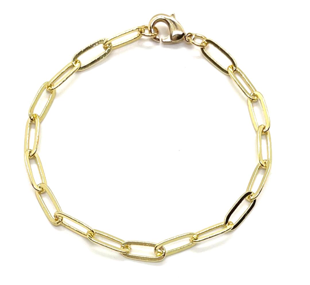 Accessory Concierge Paperclip Chain Bracelet