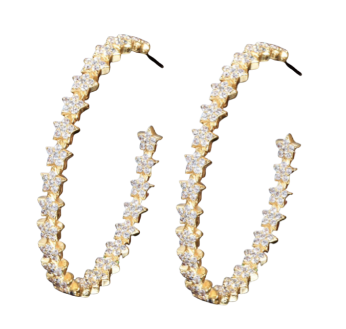 Accessory Concierge Starry Night Hoops