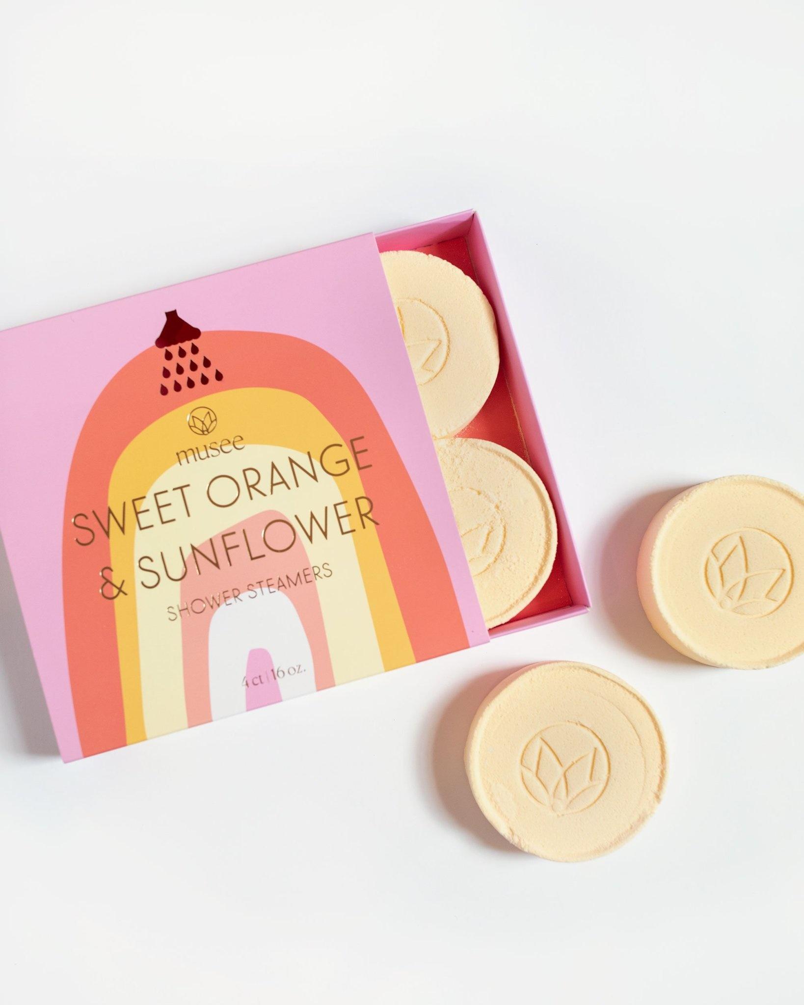Musee Shower Steamers-Sweet Orange & Sunflower