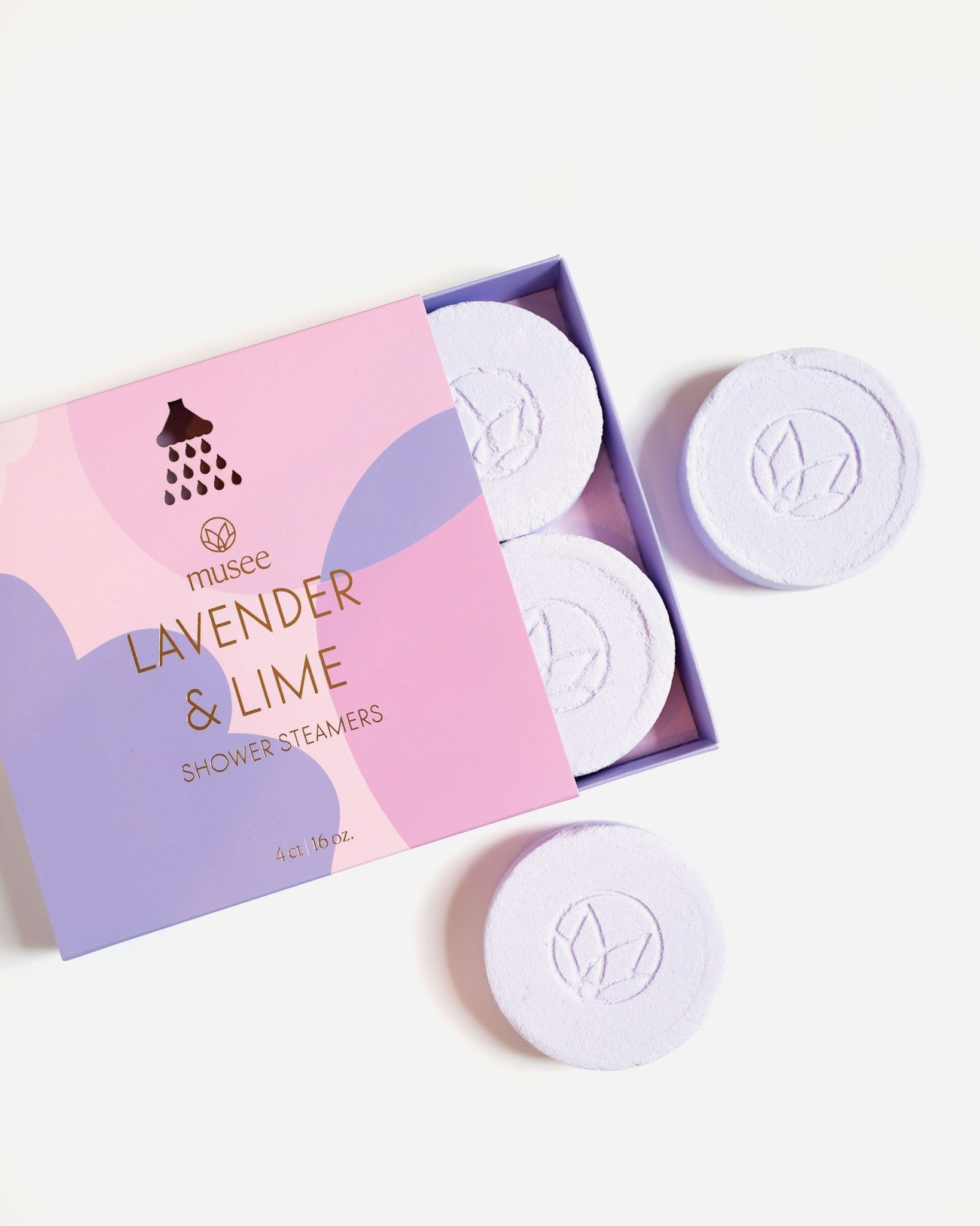 Musee Shower Steamers-Lavender & Lime