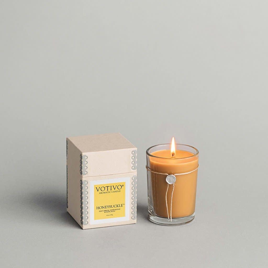 Votivo 6.8 oz Aromatic Candle Honeysuckle