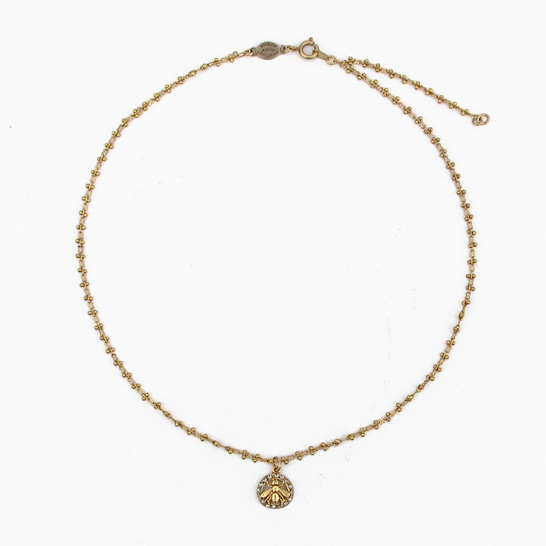 La vie Parisienne La Vie Bee Necklace