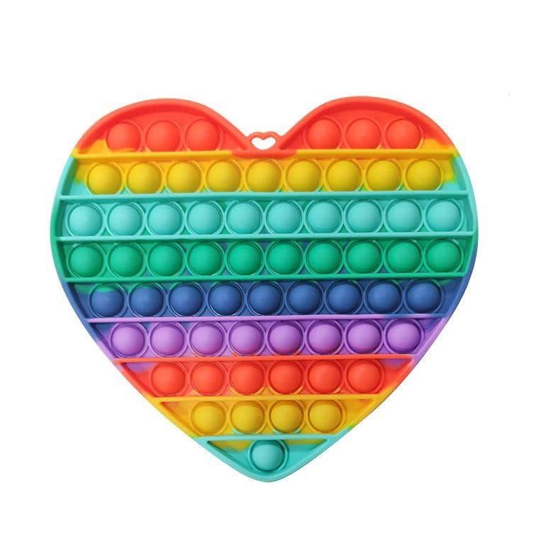 Unmaid Products Big Size Push Pop Fidget Toy Heart