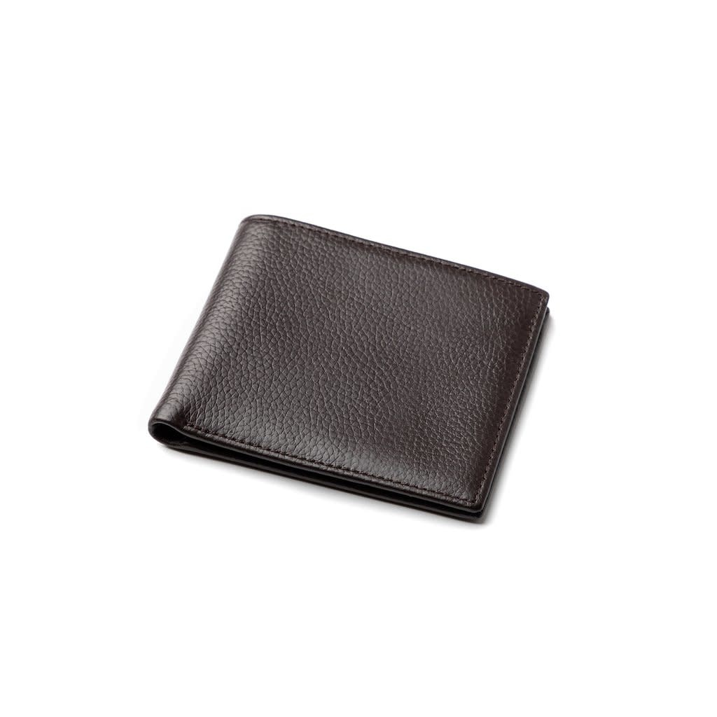 Brouk & Co. Stanford Genuine Leather Wallet Brown