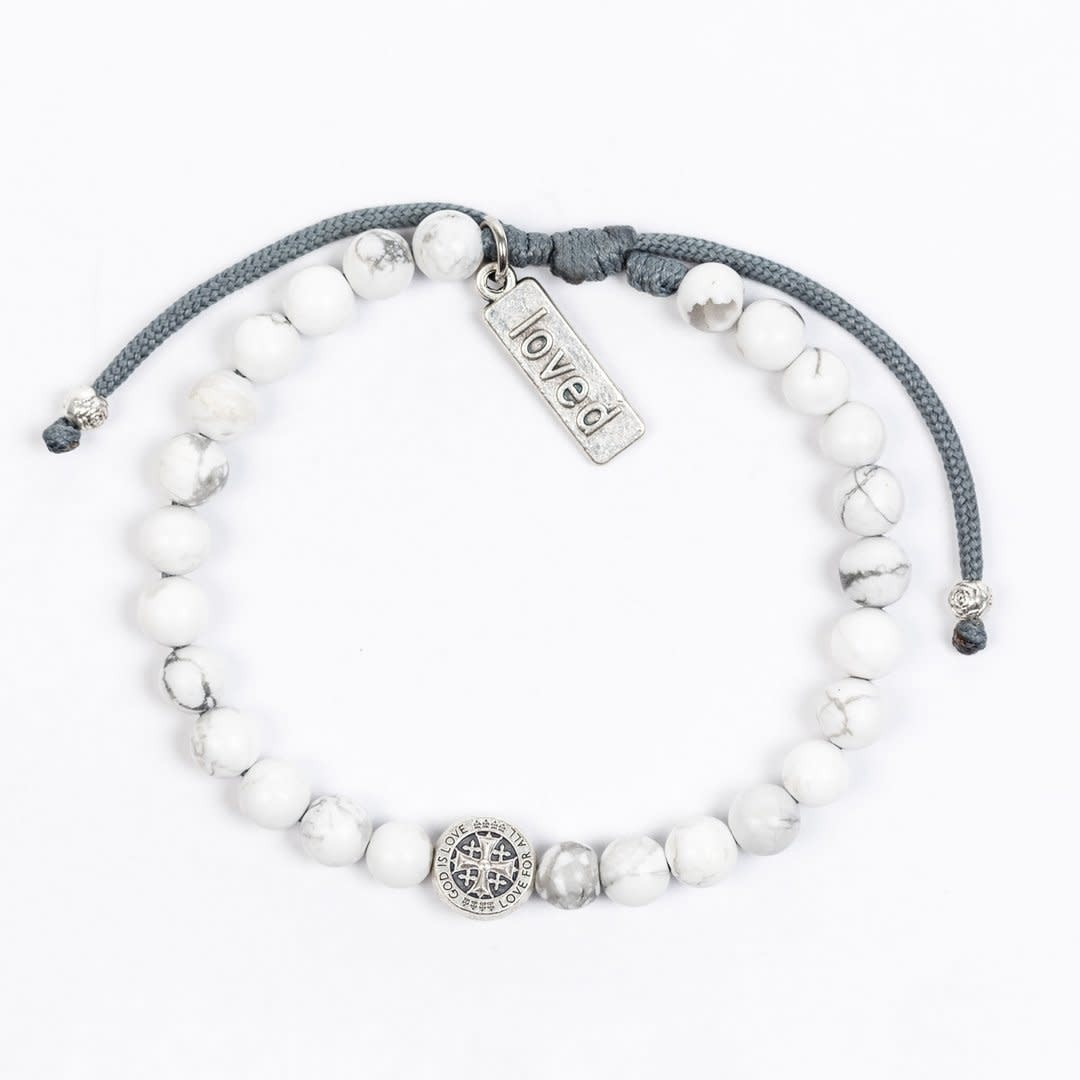 My Saint My Hero A Father's Love Blessing for My Daughter Bracelet