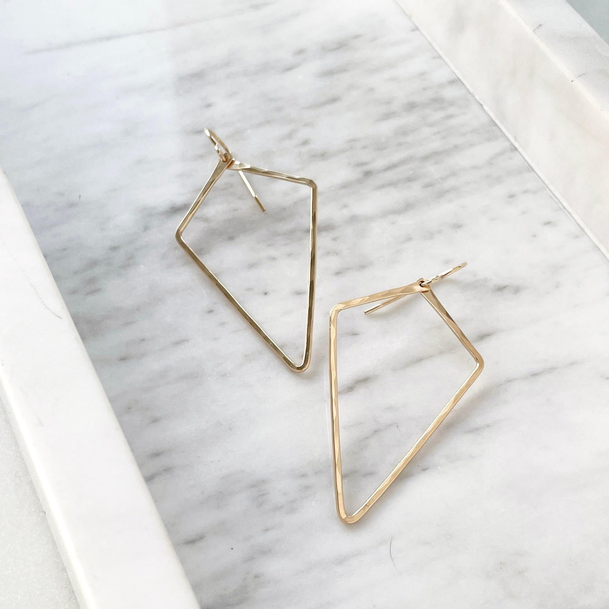 Token Jewelry Alexa Earrings-14K Gold Fill