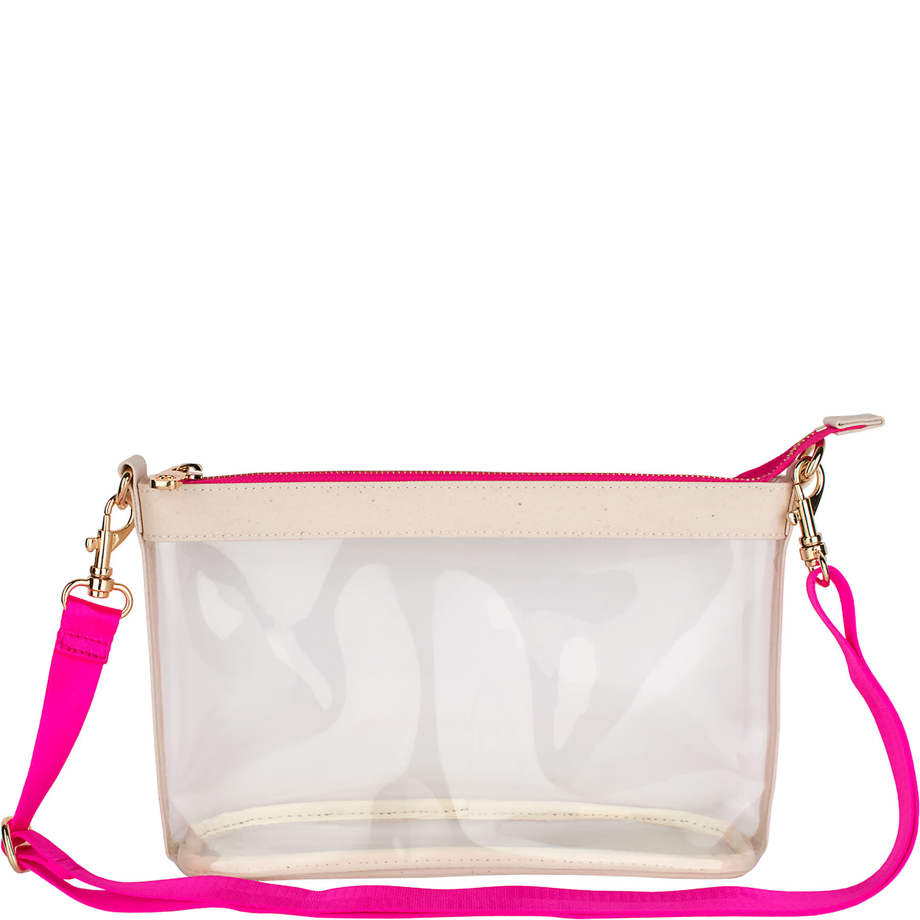 Boulevard Lucy Clear Crossbody Pink