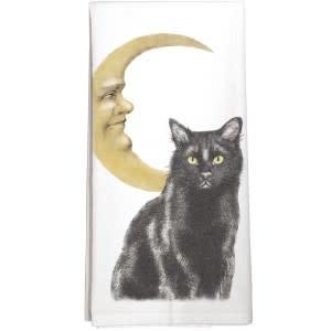 Mary Lake-Thompson LTD Cat Moon Towel