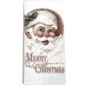 Mary Lake-Thompson LTD Jolly Santa Towel