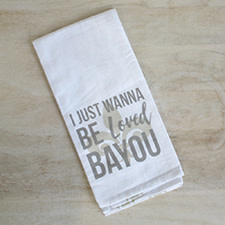 The Royal Standard Be Loved Bayou Hand Towel