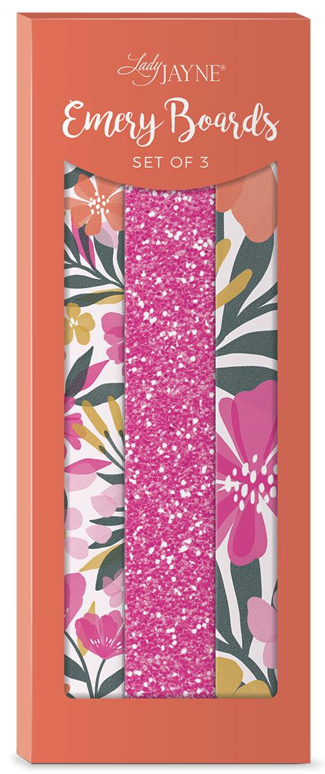 Lady Jayne Sunlit Garden Nail File-Set of 3