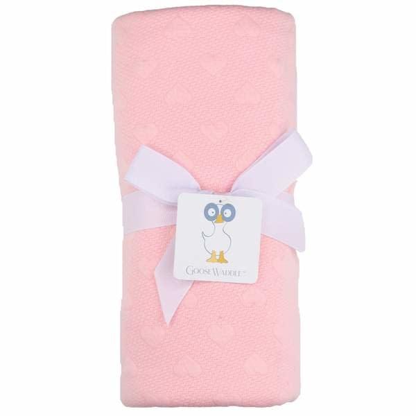Goosewaddle Pink Knit Blanket