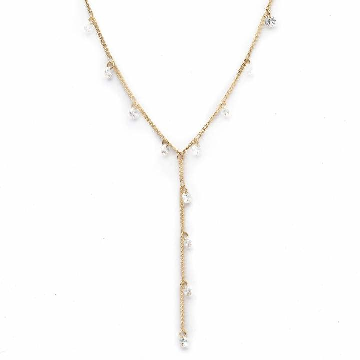 Lover's Tempo Gold Constellation Lariat Necklace