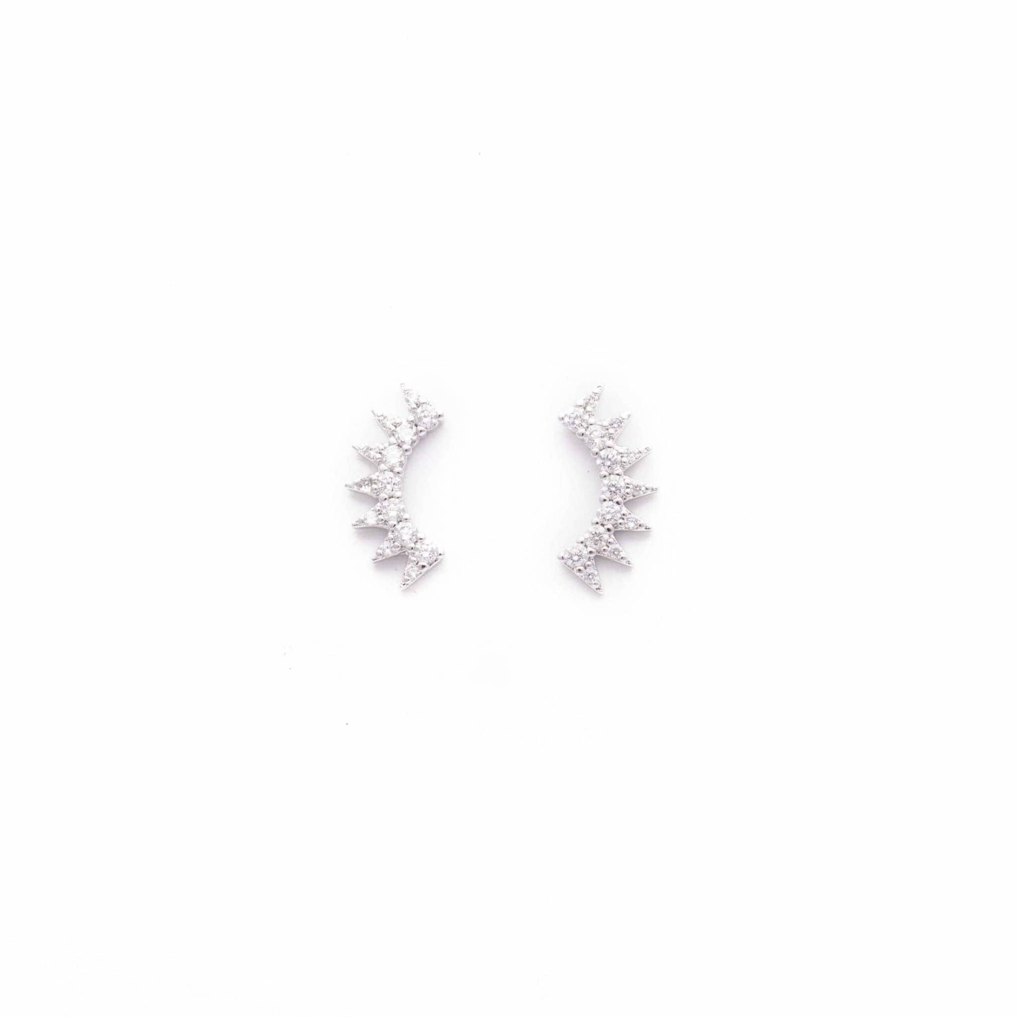 Lover's Tempo Silver Nova Climber Earrings