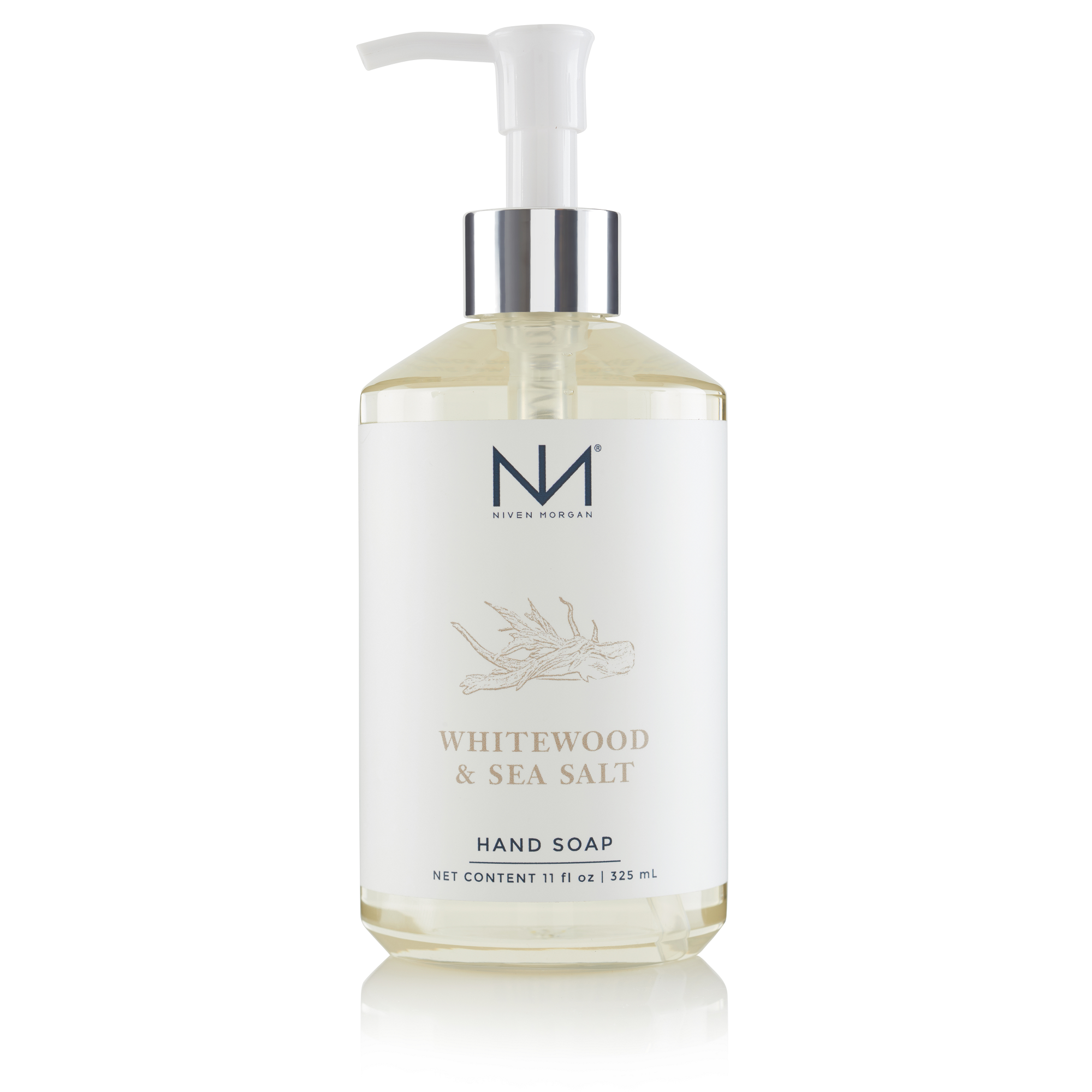 Niven Morgan Whitewood & Sea Salt Hand Soap
