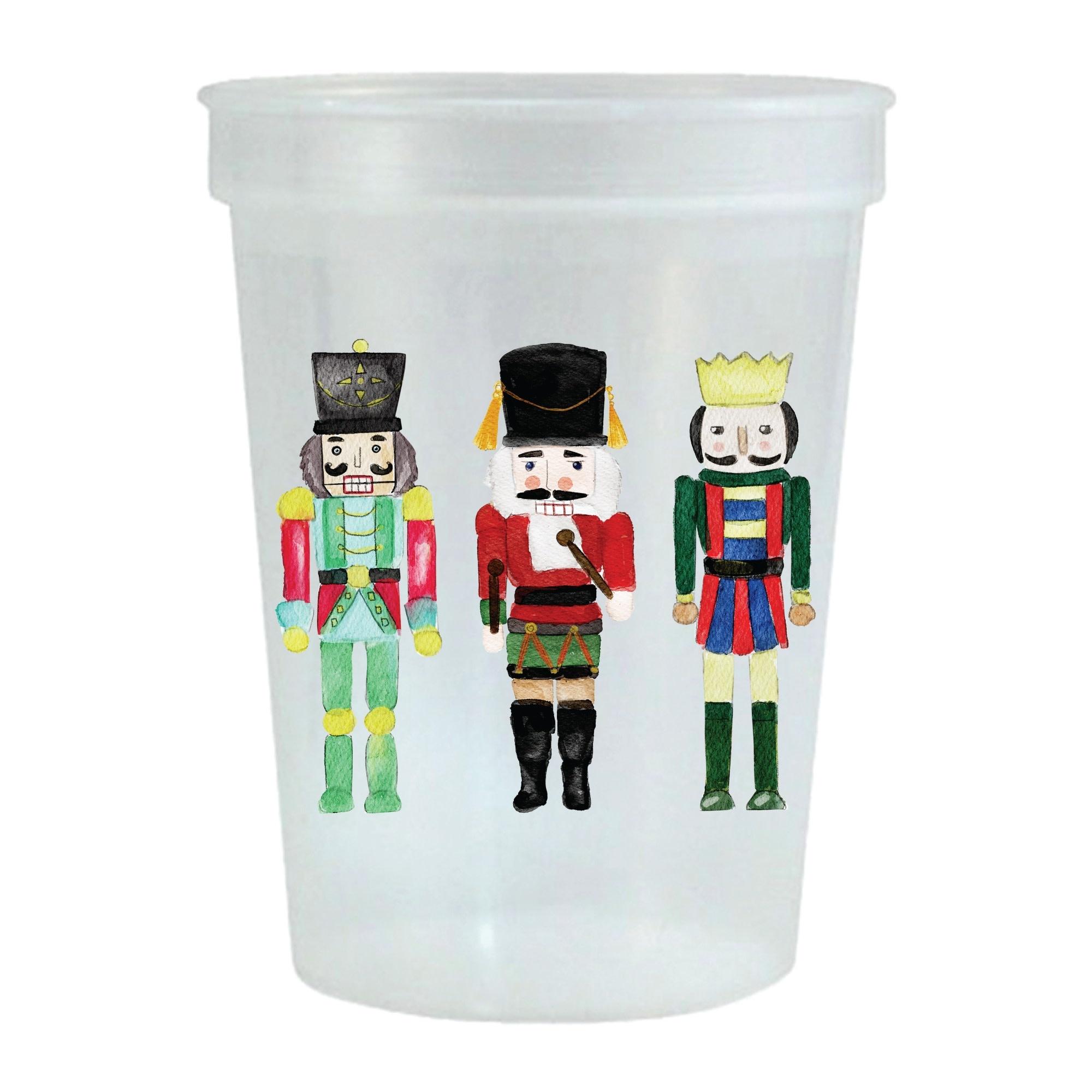 Sip Hip Hooray Nutcracker Stadium Cup-Set of 6