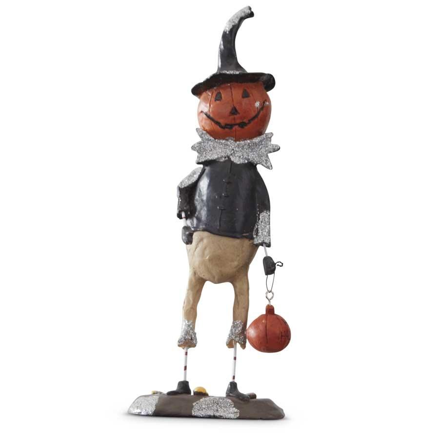 K&K Interiors Pumpkin Man Standing w/ Pumpkin