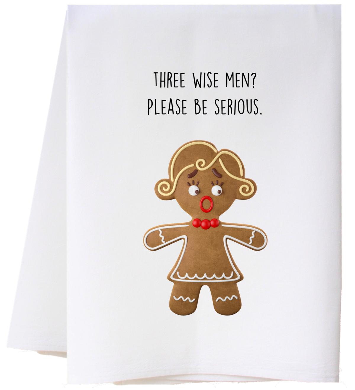 Southern Sisters Enterprises Three Wise Men Flour Sack Towel