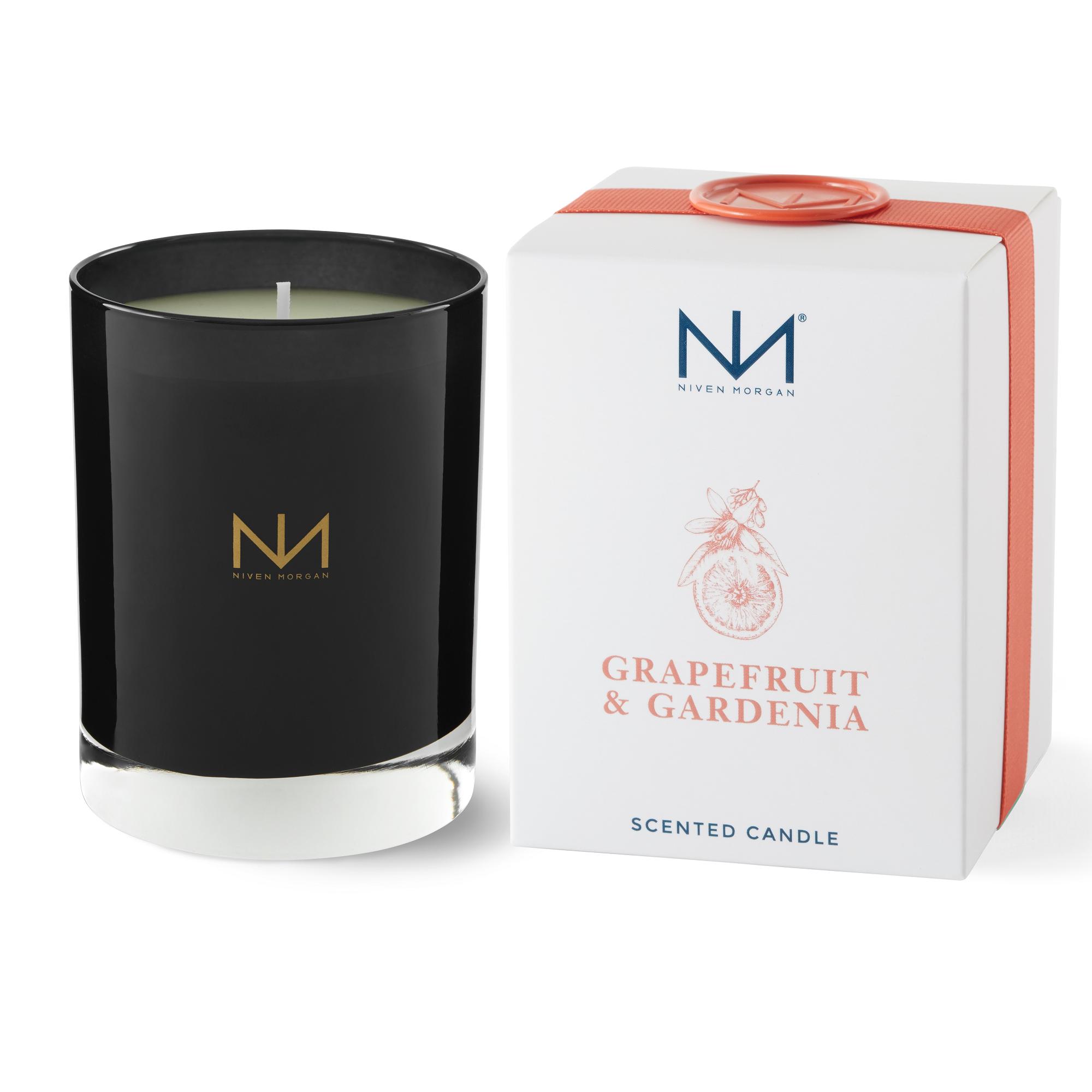 Niven Morgan Grapefruit & Gardenia Boxed Candle